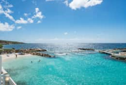 Curacao Ocean Resort Dolphins Corner - private beach and access to the house reef