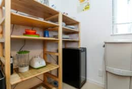 Kitchen equipped|Submarine House| Tokyo Family Stays |Spacious |