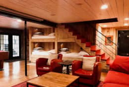 Lower Level Built In Bunks