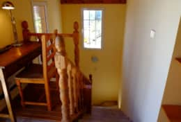 main house stairs to 1st floor
