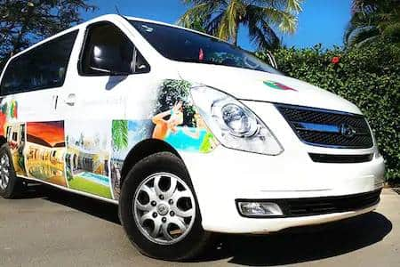 RCL complimentary shuttle goes to both Sosua and Cabarete several times a day