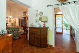 La Casella, kitchen and living room