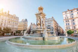 Place des Jacobins - famous square in Lyon
