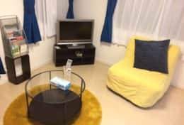 TV, DVD, cable TV and WiFi |Submarine House| Tokyo Family Stays |Spacious |
