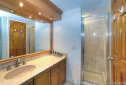 Private 2nd master bedroom bathroom with shower