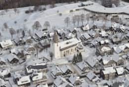 Winterberg from the air