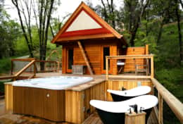 Hot Tub and Outdoor Baths