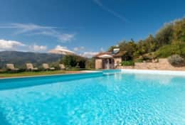 Swimming pool at La Casella