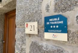 We are 3* accredited with Meublé de Tourisme