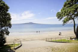 Nearby Takapuna Beach