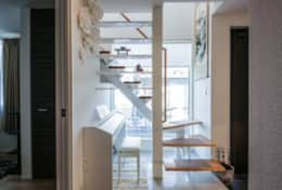 Internal Stairs| Koenji House| best family stays in Tokyo | Tokyo Family Stays|