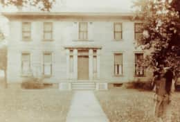 Picture of the historic B & B