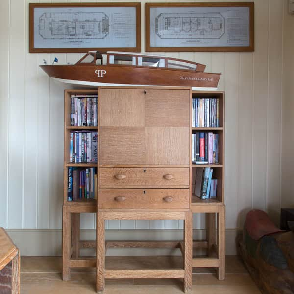 The Harpy boat cabinet