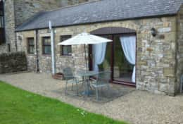 Cottage Patio & Enclosed Garden