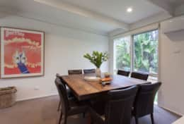 Open plan kitchen/living/dining