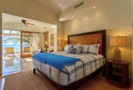 MASTER BEDROOM #2. UPSTAIRS. Beachfront Private Villa Vacation Rentals Los Cabos
