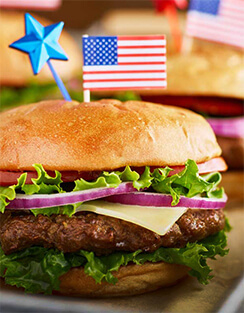 American food on Marco Island