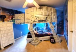 Star Wars AT AT bunk bed