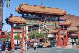 Chinatown near by