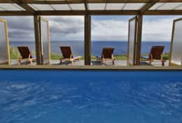 Pool with oceanview