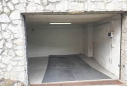 Private garage below the apartment