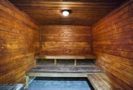 The Grand Dry Sauna Located In Gym RG level