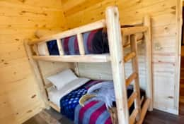 Bunk bed on the loft