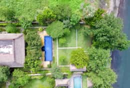 Aerial view of Villa Wilali 2