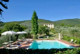 Villa for groups near Panicale