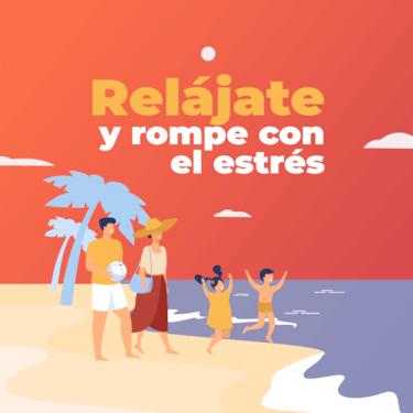 Rental holidays contactanos, relajate y rompe con el estres