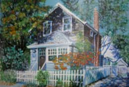 Chisholm House as painted by one of our special house guests
