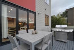 Bbq deck off kitchen