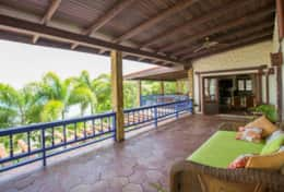 Main Veranda includes a day bed, for those lazy afternoons.