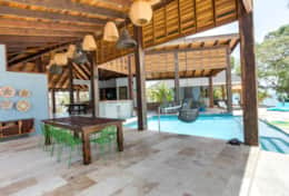 Dining area and Pool