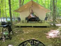 Baby Face's Luxury Tent #10 (A-Frame Style)