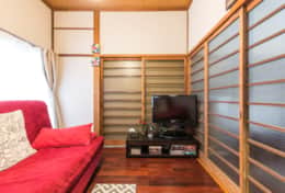 Sitting room|Samurai House Tokyo Family Stays |Spacious