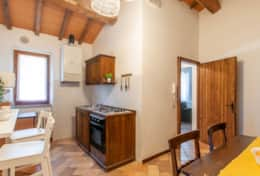Villa La Ginestra, first floor kitchen