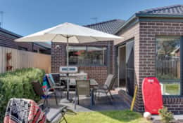 BBQ Backyard - Once Upon A Tide - Good House Holiday Rentals