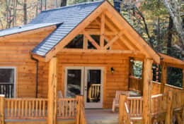 Hideaway at High Rock Cabin 02