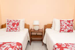 Villa 1 | Bedroom C | 2 Twin Beds | A/C | Security Safe