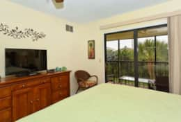 King Master Suite with access to Private Lanai