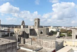 Palazzotto -view from the roof - Lucugnano di Tricase - Salento