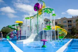 Windsor Hills Waterpark area - splash zone