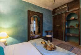 Riad shemsi - Chambre turquoise