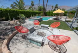 Famously Designed Palm Springs Mid Century Delight