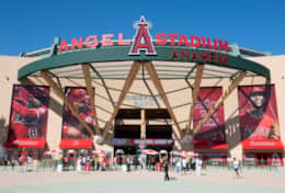 Angels baseball stadium