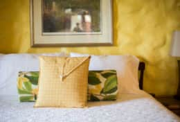 Caribbean colors and comfort in the Ginger Suite (Queen)