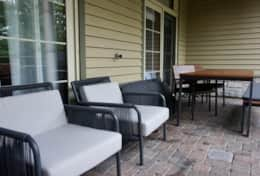 Chairs & outdoor dining table