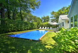 Swim in heated swimming pool and sunbathe in complete privacy!