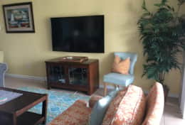 family room features 65